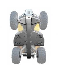 Can Am Renegade 500 / 800  KIT PROTECCIONES BAJOS COMPLETOS 5MM XRW