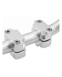 Torretas adaptar manillar aluminio 28mm