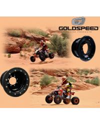 Llanta delantera Goldspeed 10x5 beadlock polycarbono