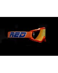 Gafas Red Huricane Naranja Espejo y Transparente