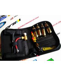 Kit reparación pinchazos neumáticos