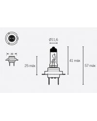 LAMPARA HALOGENA H7 12V 55W